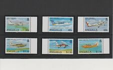 Anguilla Early Airlines Issue of Year 2006 Set MNH Scott 1145-1150
