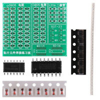 Beginner DIY Kit SMT SMD Electronic Component Welding Practice Training Board