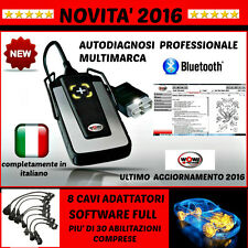 AUTODIAGNOSI UNIVERSALE BLUETOOTH WOW 2016 AUTO DIAGNOSI OBD/OBD2 + DATABASE
