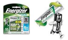 Energizer Recharge AA 2300 mAh 4 pack 5 year shelf life Batteries New & Sealed