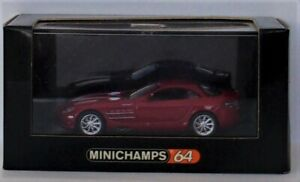 Minichamps  Mercedes-Benz SLR McLaren   Red 1:64   2008  Mint Condition