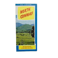 Vintage North Conway NH Travel Brochure Resort Center White Mountains