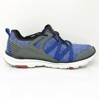 Abeo Womens Lite 2.0 4061 Blue Gray Running Shoes Lace Up Low Top Size 10 M