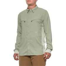 Simms Fly Fishing Intruder BiComp L/S Guide Shirt - Choose Size Sagebrush Color