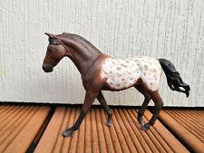 Collecta Pferd Repaint Repainted Unikat OOAK Appaloosa Brauner wie Schleich TOP