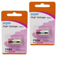 2x HQRP Batterie pour Canon A-1, AE-1,AE-1 Programme,AV-1,AT-1
