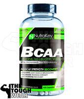 NUTRAKEY BCAA 1500 400CAPS - AMINO ACIDS - LEUCINE, ISOLEUCINE, VALINE