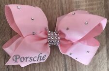 🎀Personalised Hair Bow Clip 6inchExtra Bling FreePostage Any Colour Any Name🎀