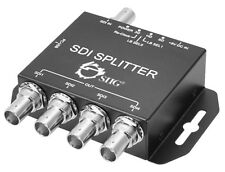 SIIG 1x4 3G-SDI Splitter with Multi-Channel Audio Up to 1080p (CE-SD0111-S1)
