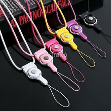 2PCS/Set Practical Detachable Neck Strap lanyard for Cell Phone Mp3 Mp4 ID Card