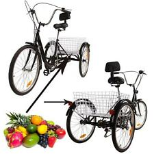 6S 24 pouces 3 bicyclette bicyclette bicyclette d'adulte Tricycle Dreirad vélo