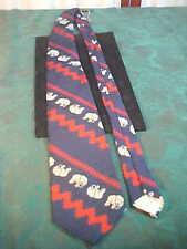 Vintage Elephant Designed Neck Tie-Free Shipping