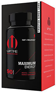 UPTIME-Maximum Energy Blend Tablets-Premium Supplement - 90ct. Bottle