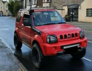 """Suzuki Jimny LED light bar brackets 42"""" off road 4x4 with bush cables and mounts"""