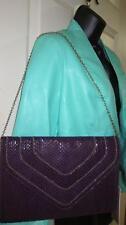 Jennifer Lopez 500 Count Purple Accessories & Handbags Nina Clutch NS - NWT $89