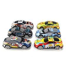 6X Mini lega Scooter auto modelli giocattolo simulato corse per ragazzi regali