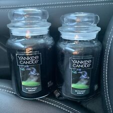 Yankee Candle Witches brew lot of 2 22 oz candle New Unused
