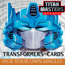 Wave 5 Battle Cards: Titan Masters Attack (Transformers TCG Singles)