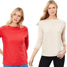 Joules Womens Bess Drop Shoulder Classic Fit Sweater Jumper
