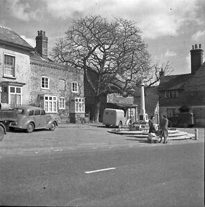 B/W 6x6 Negative Bletchingley Surrey Village Scene 1951 INC ©  redb502