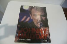 JOHNNY HALLYDAY CALENDRIER 2014 NEUF EMBALLE.DANIEL ANGELI. TONY FRANK. GASSIAN
