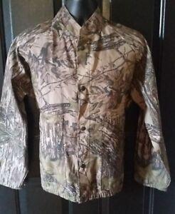 Vintage Liberty Camouflage Jacket Spring Hunt Bow Realtree Camo Mens Size Medium