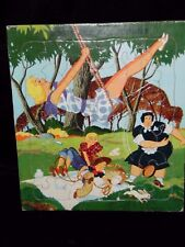 Vtg Saalfield #7339 Kids Picture Puzzle - Boots & Her Buddies