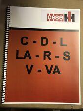C J.I. Case Tractor Technical Service Shop Repair Manual Model C