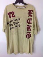 Ecko Unltd-Mens T-Shirt, 3XL-XXXL, Rhino Logo Shirt, Patches and Metal Darts