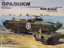 "SONDERAKTION GPA/DUKW , Squadron Signal ""Walk Around Color Series"" , Heft *NEU*"