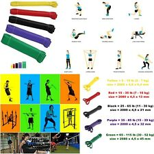 loop power band elastico per allenamento fitness banda resistenza cross training