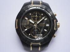 Gents wristwatch PULSAR CHRONOGRAPH by SEIKO quartz watch working VD67A