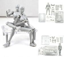 Body DX Set Chan Female Kun Male Gray Doll PVC Figure SHF S H Figuarts Set 2.0