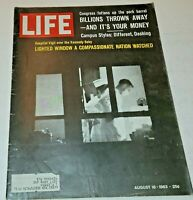August 16, 1963 LIFE Magazine Complete w/ old 60s ads FREE SHIPPING Aug 8 15 17