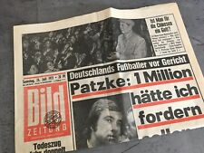 Bildzeitung 24. Juli 1971 BILD Zeitung 24.07.1971 * 47. 48. 49. 50. Geburtstag