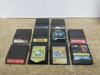 Mixed LOT of 10 Activision/Intellivision Game Cartridge Frogger Qbert Burgertime