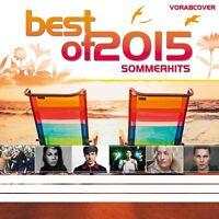 BEST OF 2015-SOMMERHITS 2 CD NEU