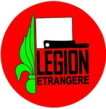 2 French Foreign Legion 4 inch=10.16 cm Stickers Decal for Car Luggage Outdoor