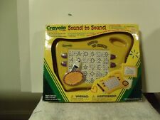 CRAYOLA Sound to Sound Electronic Learning Board Toy Writing Dry Erase NEW 2002