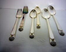 *Set of 6* TEA TABLE SPOONS FORKS 1847 Rogers Bros ETERNALLY YOURS Silverplate