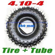 "4X GL 3.50 / 4.10 - 4"" inch Tyre Tire + Tube 47cc 49cc Mini Quad Dirt Bike ATV"