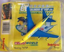 BOEING 747SP WING WORLD scala 1/500 HERPA (511476)