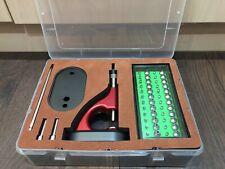Watchmaker Lathe Uhrmacher Drehbank Jewelling Setting Tool Set