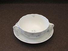 Hutschenreuther Marie-Thérèse Seehof Bleu Tasse à café avec soucoupe
