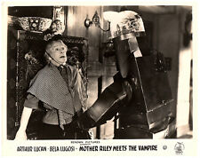 OLD MOTHER RILEY MEETS THE VAMPIRE ORIGINAL LOBBY CARD x 6  ARTHUR LUCAN