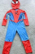 Spiderman Halloween Costume Unisex Dress Up Cartoon Childs size 4-6