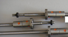 4 ball screws with 5 Double ballnuts DFU 2005 -C7 , 4 BK15/BF15 for CNC router