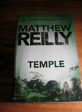 MATTHEW REILLY - TEMPLE- BESTSELLING THRILLER PUB 2016