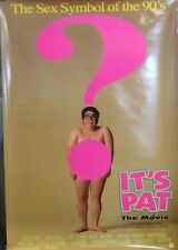 It's Pat Original Double Sided Movie Poster Julia Sweeney Dave Foley SNL