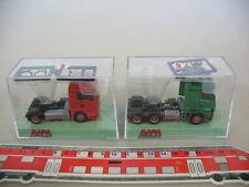 M970-0,5# 2x AWM H0 Zugmaschine: MAN + Mercedes-Benz MB, NEUW+OVP